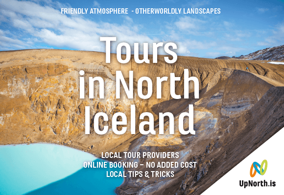 Up North tours in North Iceland online booking