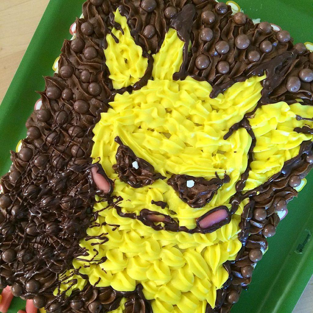 Pokemon-cake